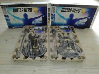 guitarras guitar hero live