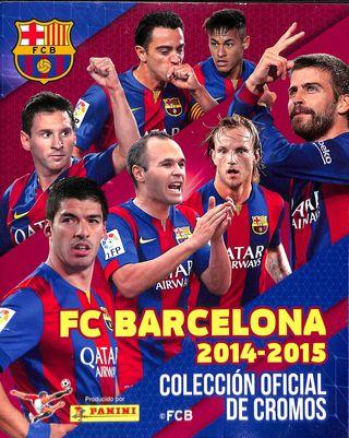 Album Fc Barcelona2014/2015 - 24CROMOS de 160