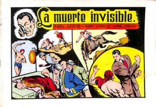La muerte invisible nº 58 - Roberto Alcázar y Pedr