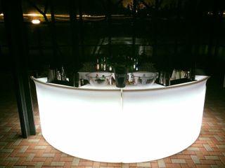 Mostrador de Bar iluminado