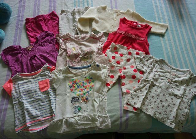 e3254753a Lote ropa niña 3-6 meses (68 cm) de segunda mano por 15 € en Moras ...