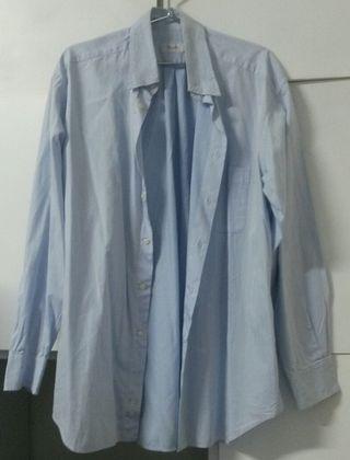 camisa azul Bagutta caballero