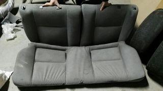 asientos traseros y cintos honda civic eg