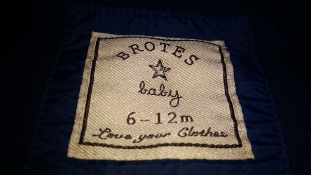 Chaleco Brotes baby, talla 6 meses, 1 puesta