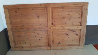 Puertas de madera antiguas de segunda mano en wallapop for Puertas correderas antiguas