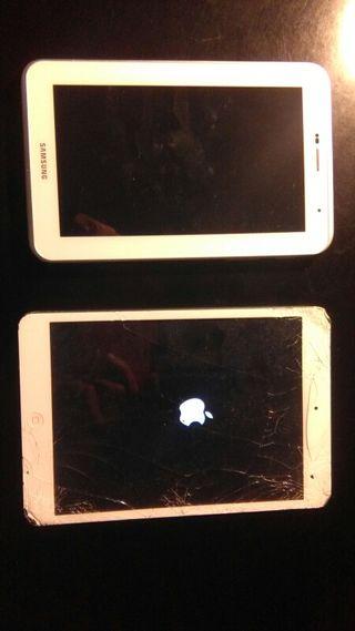Ipad mini + Samsung tab