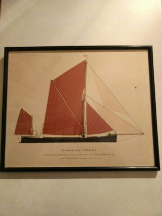 Cuadros Barcos Vintage