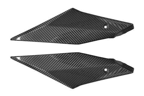 Paneles laterales en fibra de carbono Yamaha R1 2
