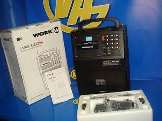 Amplificador audio Work wap 650