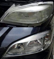Reparacion de Faros de coche