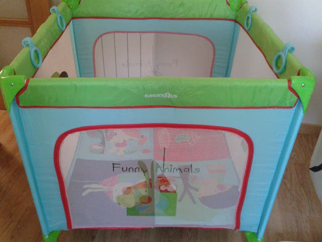 Parque infantil comprado en toys r\'us de segunda mano por 50 € en ...