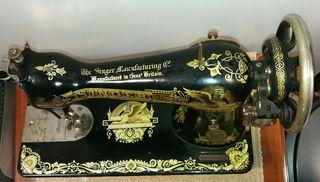 Cabezal máquina de coser Singer 1912