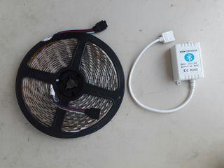 Tira led RGB Bluetooth 5mts