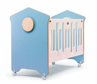 Cuna de Bebe - Azul 60cm