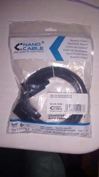 Cable VGA sin estrenar
