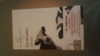 Libro ¡Muu! David Safier