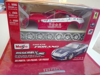 Maqueta de coche Ferrari