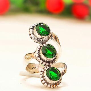 anillo vintage plata 925 talla 14