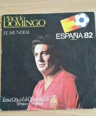 Disco vinilo single MUNDIAL 82