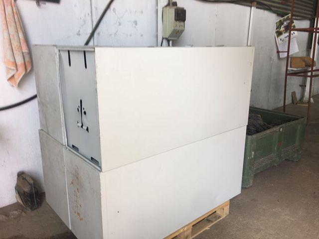 Lote 12 archivadores metalicos 4 cajones oficina
