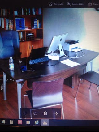 Mesa Escritorio De Segunda Mano Por 45 En M Laga En Wallapop