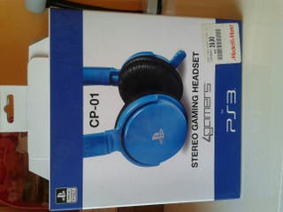Auriculares PS3. STEREO GAMING HEADSET.