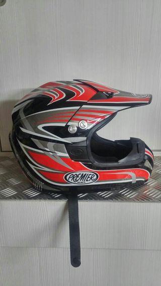 casco motocross enduro premier