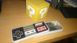 ucha bloque MARIO + caja mando NESS