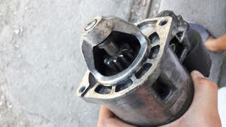 Motor arranque Fiat uno turbo mk2.