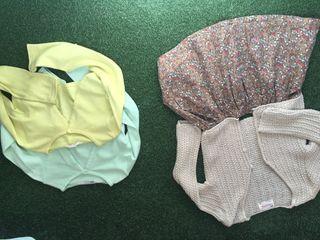 Ropa niña 3 chaquetas y falda