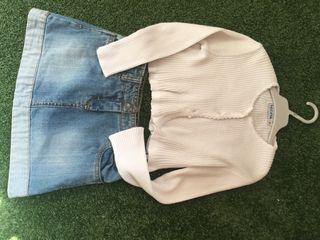 Conjunto ropa niña 6-8