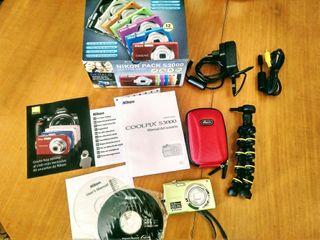 Cámara Nikon Coolpix S3000