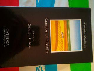 Libro lectura. CAMPOS DE CASTILLA