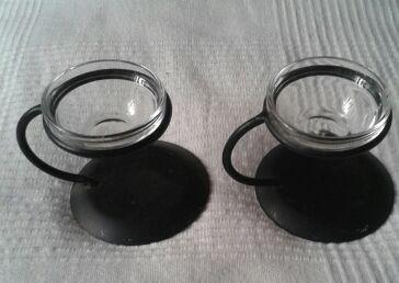 2 Candelabros, portavelas