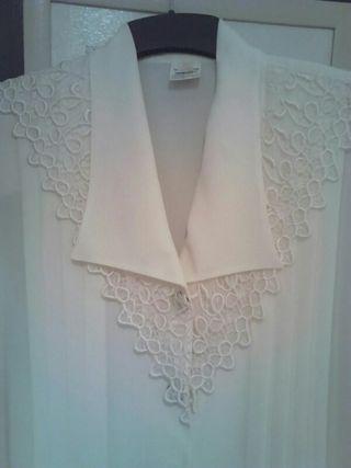 Camisa de seda mujer.