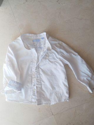 Camisa blanca mayoral T. 9 meses