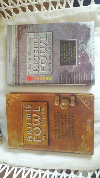 Pack 2 libros Artemis Fowl