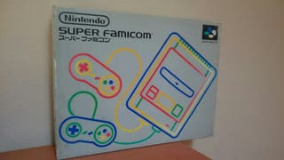 Super Famicom + juego