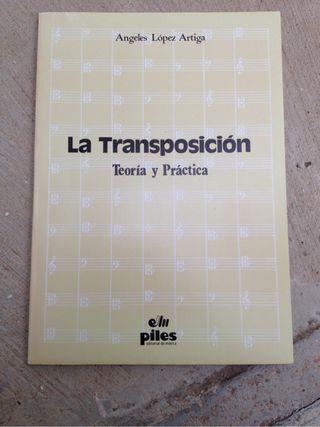 La transposición musical.