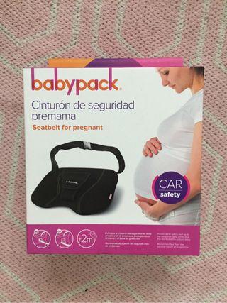 Cinturon seguridad embarazada