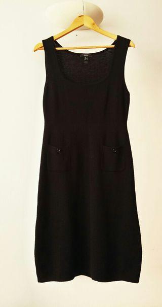 Mango Negro Vestido Vestido Negro Suite UqfXzx