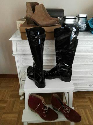 Super chollo lote botas y botines