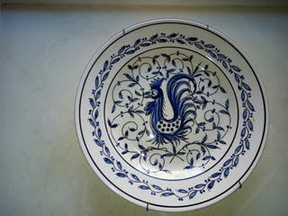 Plato decorativo