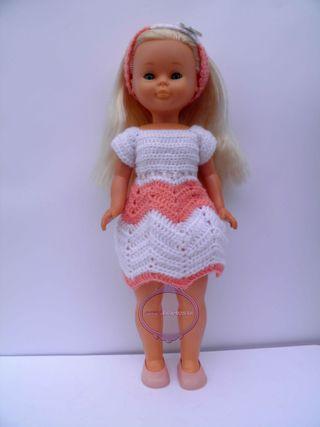 vestido crochet Nancy