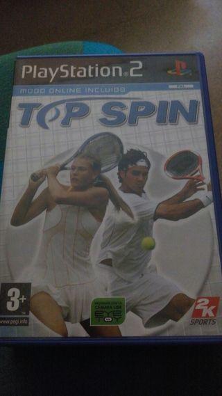 Top Spin, para ps2