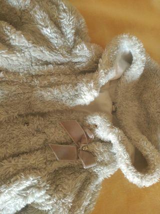 abrigo invierno marca mayoral talla 12m