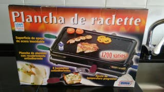 Plancha de Raclette