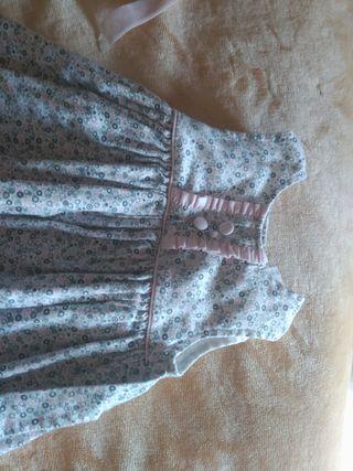 vestido niña talla 6 meses