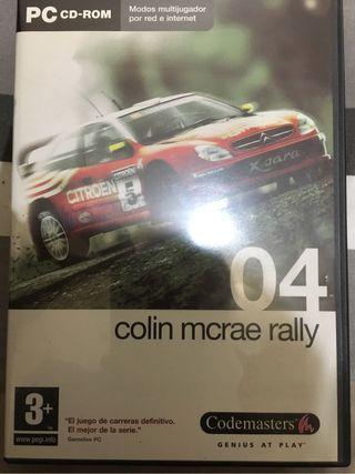 Videojuego Colin McRae Rally