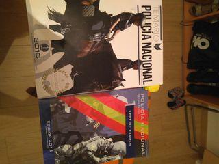 Libros oposiciones Policía Nacional